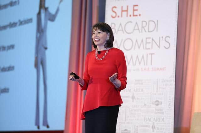 Gloria Feldt - expert on female leadership