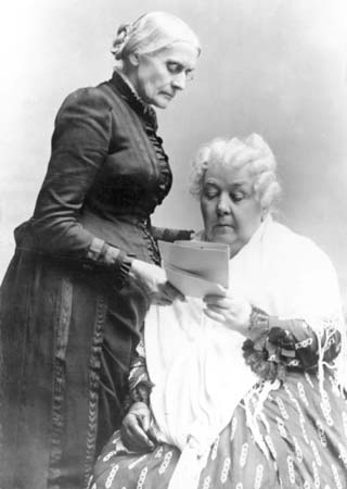 elizabeth stanton and susan b anthonys contribution on the equality on women today Susan b anthony: pro-life feminist  susan b anthony is a  anthony devoted her energy first to the abolition of slavery and then to women's equality at.