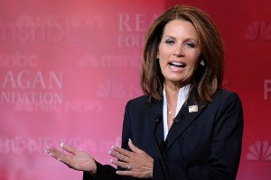 Republican presidential candidate Michele Bachmann (R-MN), Kevork Djansezian / Getty Images