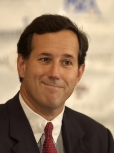 Rick Santorum (AP Photo/Bradley C Bower)