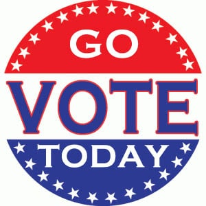 Go Vote Today
