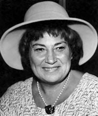 Congresswoman (D-NY) Bella Abzug