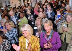 Anita Hill party over 500 attendees