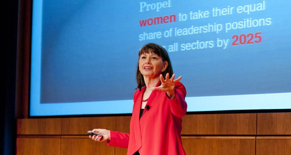 Gloria Feldt Women's Leadership Summit 9/20/13 Lisa Levart /LUSH Photography