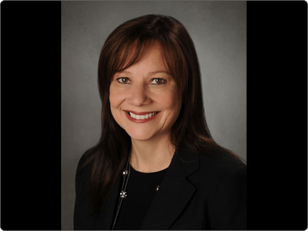 GM Mary Barra